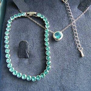 Jewelry - Sky Blue Zircon Jewelry Set